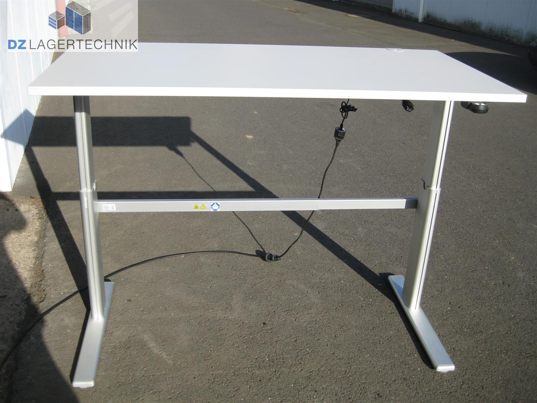 schreibtisch elektrisch h henverstellbar 1600x800mm 160x80cm tisch ssi sch fer. Black Bedroom Furniture Sets. Home Design Ideas