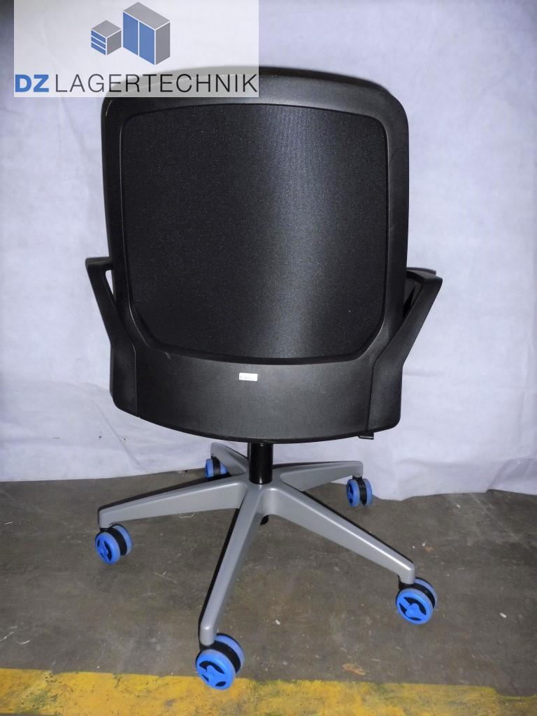 konferenz drehstuhl buddy mit armlehne b rostuhl shreibtischstuhl stuhl ebay. Black Bedroom Furniture Sets. Home Design Ideas