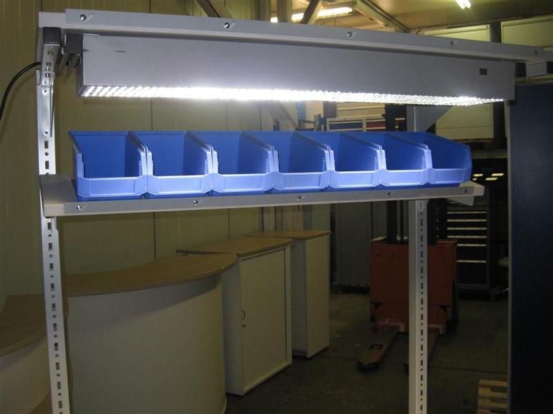Elektrisch h u00f6henverstellbare Werkbank mit Aufbau Montagetisch Packtisch Qualit u00e4t   eBay